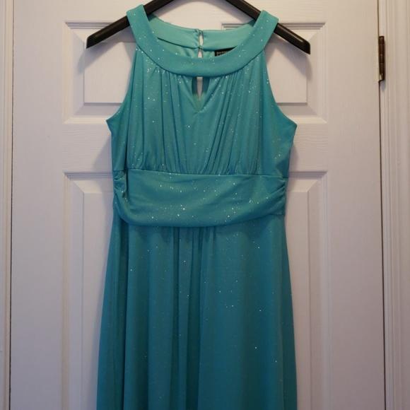 8b2334d4 Enfocus Studio Dresses & Skirts - Enfocus Studio aqua sparkle formal dress